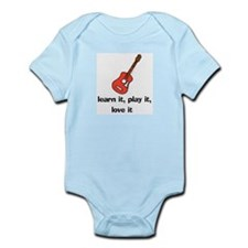 Acoustic Guitar Infant Creeper
