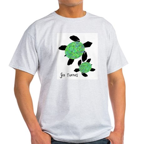 Sea Turtles Ash Grey T-Shirt