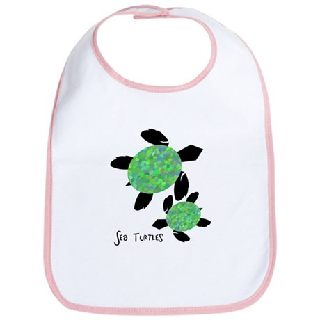 Sea Turtles Bib