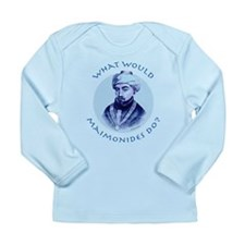 What Would Maimonides Do? Long Sleeve Infant T-Shi