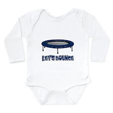 Let's Bounce Trampoline Long Sleeve Infant Bodysui