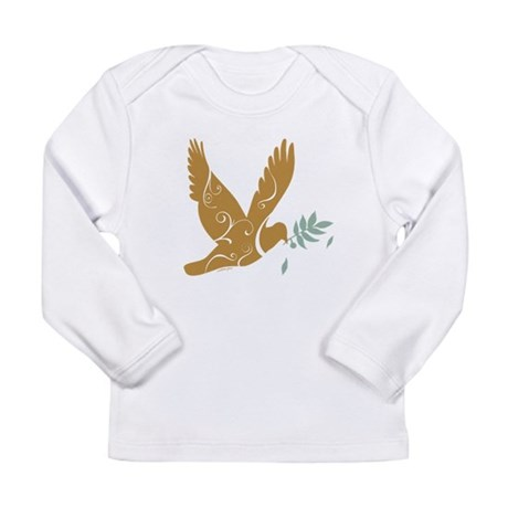 Golden Peace Long Sleeve Infant T-Shirt