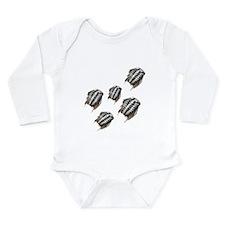 Marching Trilobites Long Sleeve Infant Bodysuit