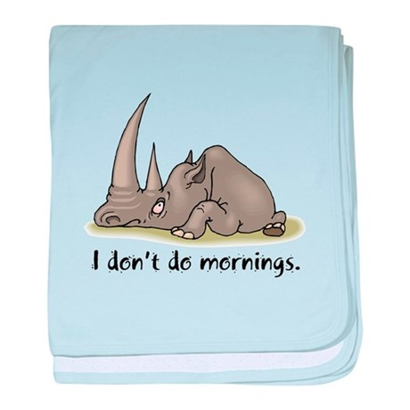 Lazy Rhino Infant Blanket