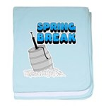 Spring Break Beer Keg Design Infant Blanket