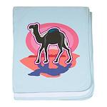 Colorful Camel Design Infant Blanket