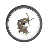 catfish Wall Clock