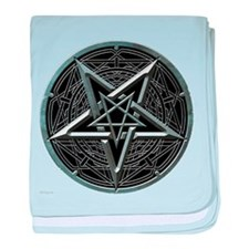 Silver Pentagram Infant Blanket