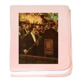 Degas Orchestra of the Opera Infant Blanket