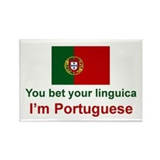 Portuguese Linguica Rectangle Magnet