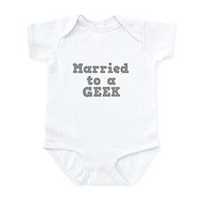 Married to a Geek Onesie