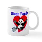 Bingo Panda Neon Heart Mug