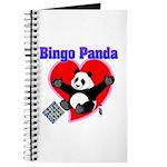 Bingo Panda Neon Heart Journal
