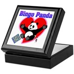 Bingo Panda Neon Heart Keepsake Box