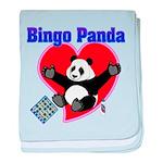 Bingo Panda Neon Heart Infant Blanket