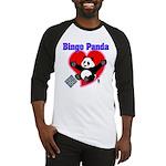 Bingo Panda Neon Heart Baseball Jersey