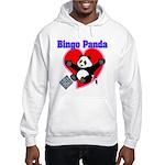Bingo Panda Neon Heart Hooded Sweatshirt