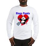 Bingo Panda Neon Heart Long Sleeve T-Shirt