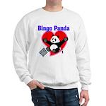 Bingo Panda Neon Heart Sweatshirt