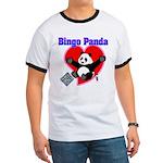 Bingo Panda Neon Heart Ringer T