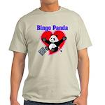 Bingo Panda Neon Heart Light T-Shirt