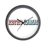 Retro-Rama Design Wall Clock
