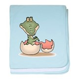 Baby Alligator Infant Blanket
