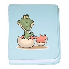 Baby Alligator Infant Blanket