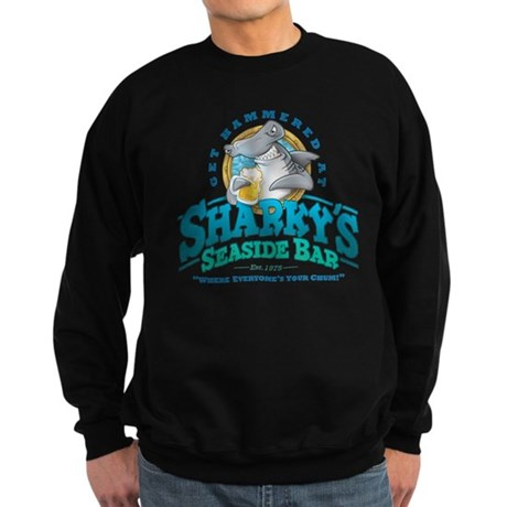 Sharky's Seaside Bar Sweatshirt (dark)