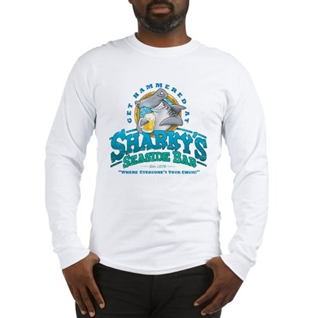 Sharky's Seaside Bar Long Sleeve T-Shirt