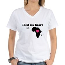 I Left My Heart in Africa Shirt