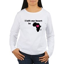 I Left My Heart in Africa T-Shirt