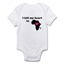 I Left My Heart in Africa Infant Bodysuit