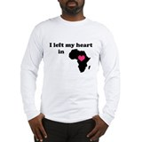 I Left My Heart in Africa Long Sleeve T-Shirt