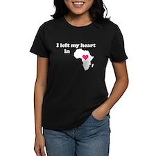 I Left My Heart in Africa Tee