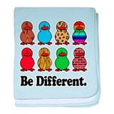 Be Different Ducks Infant Blanket