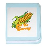 Me So Corny Infant Blanket