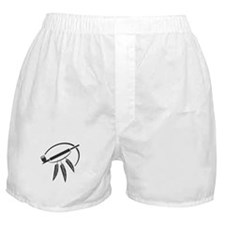 Indian Peace Pipe Boxer Shorts