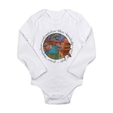 Red Canyon Long Sleeve Infant Bodysuit