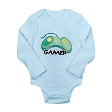 Gamer (Video Game Controller) Long Sleeve Infant B