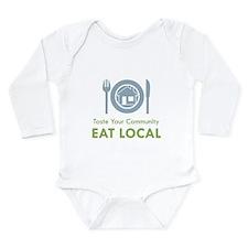 Taste Local Long Sleeve Infant Bodysuit