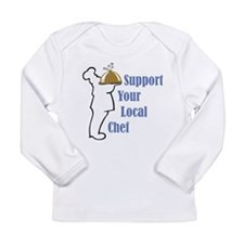 Local Chef Long Sleeve Infant T-Shirt