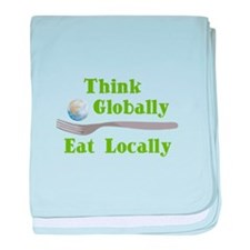 Eat Locally Infant Blanket