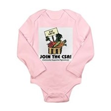 Join the CSA Long Sleeve Infant Bodysuit