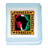 Kwanzaa Africa Map Design Infant Blanket