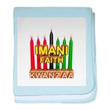 Imani (Faith) Kinara Infant Blanket