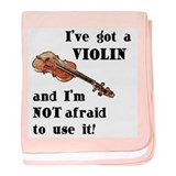 I've Got a Violin Infant Blanket
