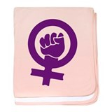 Feminist Power Infant Blanket