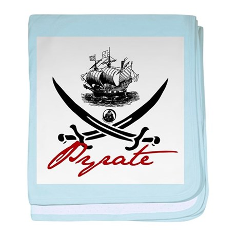 Elizabethan Pyrate Insignia Infant Blanket