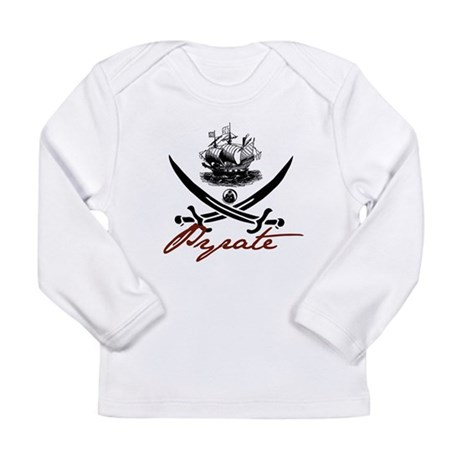 Elizabethan Pyrate Insignia Long Sleeve Infant T-S